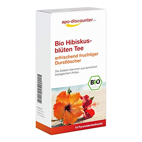 Bio Hibiskusblüten Tee Fi 15X1.5 g