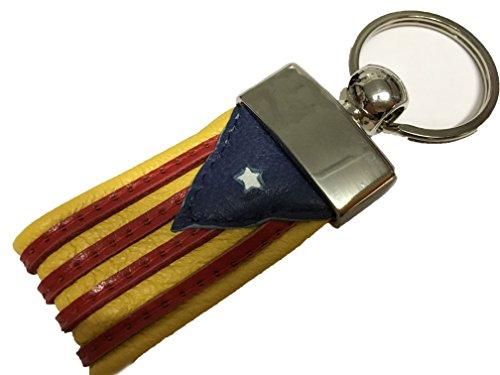 Yojan Piel - Llavero DE Piel DE LA Bandera INDEPENDENTISTA...