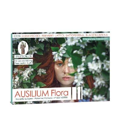 Ausilium Flora- con Lattoferrina,NAC e D-mannosio