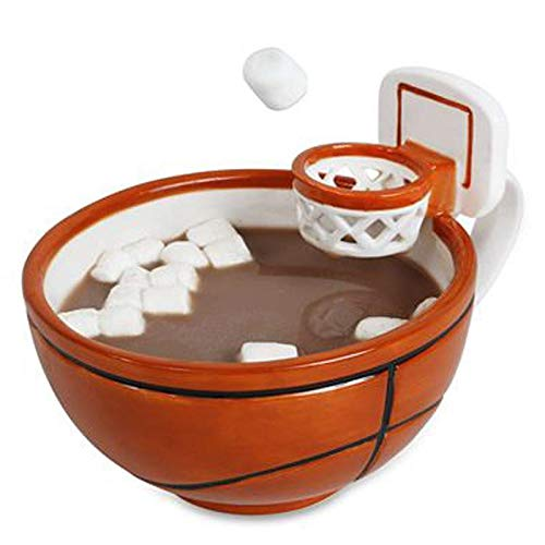 Cerámica De Baloncesto Con Un Frutero Con Asa, Cup Mark, Taza De Agua De Cerámica Para Niños, Leche De Café