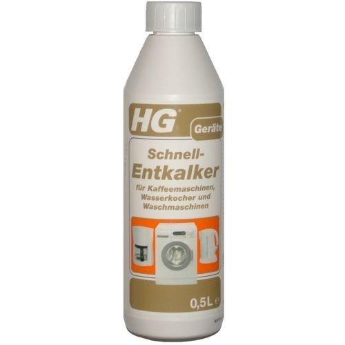 HG Schnell-Entkalker für Kaffeemaschinen und Wasserkocher, 500 ml