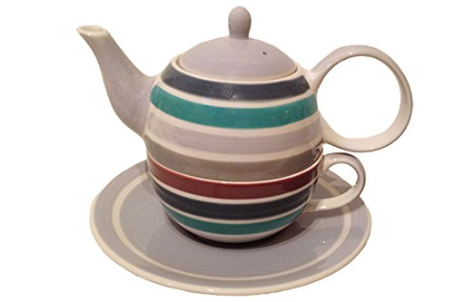 """Tea for one """"Jaron"""" 4teilig aus Keramik"""