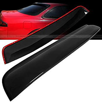 Remix Custom Compatible with Hatchback Rear Roof Window Visor Spoiler Fits 1995-1998 Nissan 240SX S14 Silvia