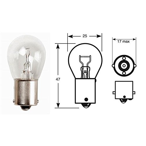 2 Signal Flash Light Bulb Arrière 12 V 21 W Ba15S R382 brouillard Recul/lampe de frein