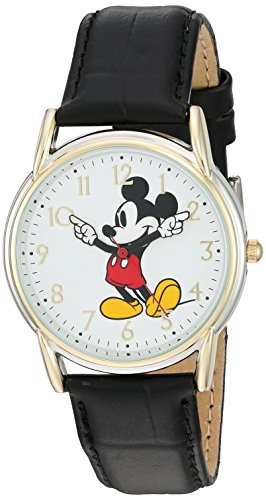 of disney watch bands dec 2021 theres one clear winner Disney Women's 'Mickey Mouse' Quartz Metal Watch, Color:Black (Model: W002755)