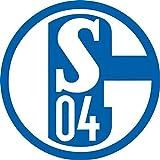 Decoracion de Pastel Comstibile de Schalke 04 / 20 cm Ø