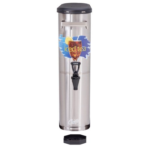 "Best Prices! Wilbur Curtis Iced Tea Dispenser 3.5 Gallon Narrow Tea Dispenser, 22""H - Designed to ..."