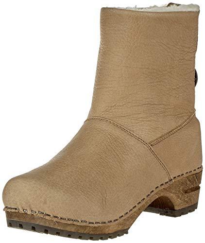 Sanita Wood silkan Low Boot, Bottes Souples Femme, Beige (Nature 14), 35 EU
