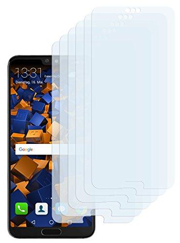 mumbi Schutzfolie kompatibel mit Huawei P20 Pro Folie klar, Bildschirmschutzfolie (6x)