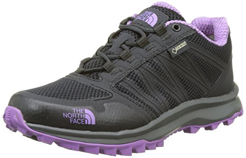 The North Face T92Y8VYYN. 7, Zapatillas Mujer, Gris (Phantom Gris/Purple), 37/38 EU