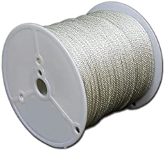 T.W Evans Cordage 44-088 1/4-Inch Solid Braid Nylon Rope 200-Feet Spool