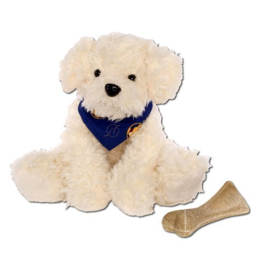 Energie Hund Oskar natur weiss, ca.20 cm