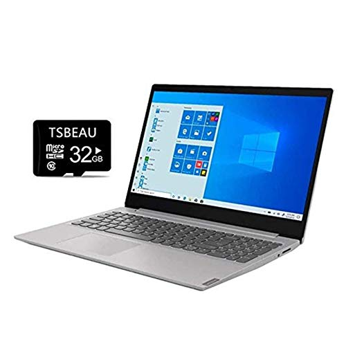 """Lenovo IdeaPad 15.6"""" Full HD Display Laptop, AMD Ryzen 3 3200U Dual-core Processor, 20GB DDR4 Memory, 512GB SSD, Platinum Gray/IMR, Bluetooth, HDMI, Windows 10, Bundled with TSBEAU 32GB SD Card"""