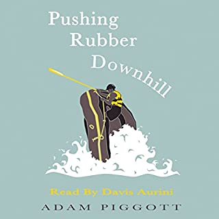 Pushing Rubber Downhill cover art