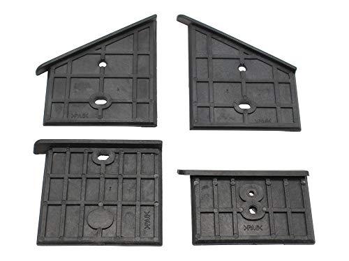 SECURA Kunststoffführungen oben kompatibel mit Woodline WL 8000 Holzspalter