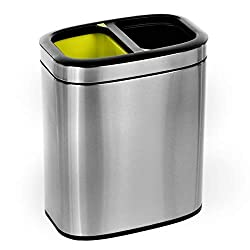 Best 20 L Dual Compartment Trash Can Review
