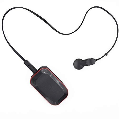 GGHKDD Bluetooth Handy Echtzeit-Herzfrequenzmessgerät Durable Pulsmesser Ohrclip Tragbarer Pulsmesser Test für Radfahren Laufen