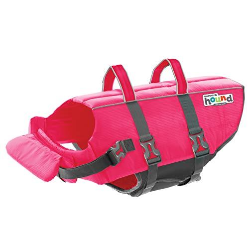 Outward Hound Granby Splash Pink Dog Life Jacket, Large