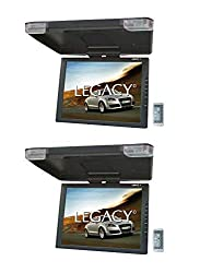 commercial 2) LEGACY LMR 15.11 5 inch TFT-LCD car / SUV / truck foldable monitor TVIR flip down tvs