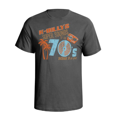 K Billy`s Super Sounds Of The 70`s Mens Movie Inspired Inspiré du film t shirt