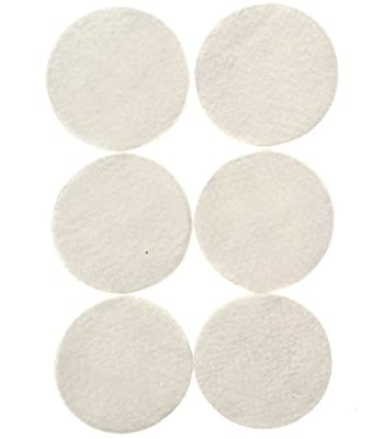 6-Pack of Filtron-Compatible Replacement Filter Pads for the Filtron Cold Brew Coffee Concentrate - By Impresa Products