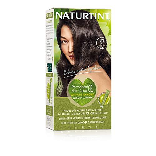 Naturtint Permanent Hair Farbstoff Dark Chestnut Brown 3N 135ml