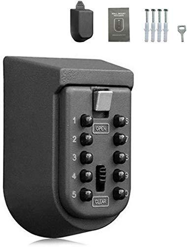 Wuyeti scatola chiave password, scatola chiave di sicurezza, il blocco scatola scatola parete impermeabile e scatola di immagazzinaggio chiave di sicurezza esterna in metallo resistente alla polvere l