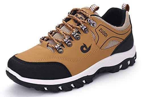 Scarpe da Trekking Uomo Arrampicata Escursioni Sportive Sneakers All'aperto Scarpe da Passeggiata Impermeabile e Antiscivoloc