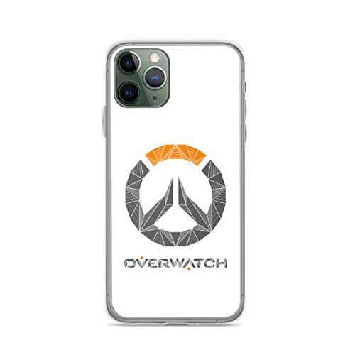 Overwatch Hard PC with Soft TPU Edges Compatible for iPhone 6/6s 6 Plus/6s Plus 7/8 7 Plus/8 Plus X/XS XR XS Max 11 11 Pro 11 Pro Max