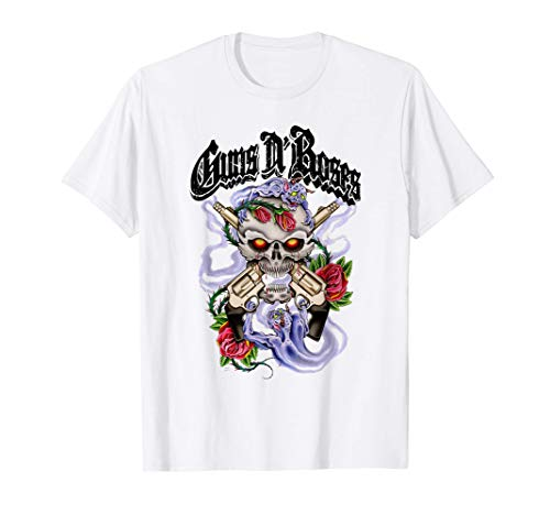 Licensed Guns N' Demons Purple Smoke T-Shirt, White for Adults and Kids, up to 3XL
