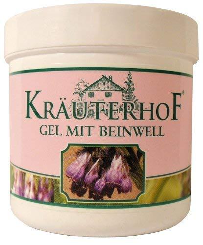 Gel mit Beinwell kühlendes Körperpflegegel, zur erfrischenden Pflege und Massage, enthält einen Extrakt aus Beinwell sowie Menthol und Kampfer
