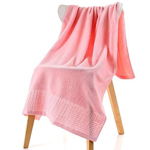 DSJDSFH badhanddoek van katoen, comfortabel, eenvoudig, 70 x 140 cm, geschikt voor de sportschool thuis, badhanddoek van dik katoen