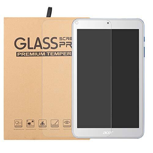 Labanema Acer Iconia One 8 B1-870 Protector de Pantalla, [Alta Definicion 0.25mm] Premium Cristal de Pantalla de Vidrio Templado para 8' Acer Iconia One 8 B1-870 Tablet