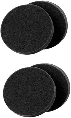 ZRDSZWZ Filtro premotor fiable de 4 piezas para aspiradora vertical sin bolsa, filtro de esponja lavable 1608225