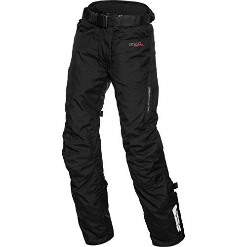 FLM Motorradhose Damen Touren Textilhose 1.0 schwarz 3XL (kurz), Tourer, Ganzjährig