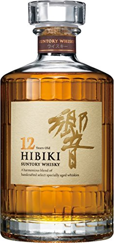 Suntory Whisky Hibiki 12 Years Old Japanese Blended mit Geschenkverpackung (1 x 0.5 l)