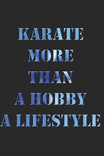 KARATE NOTIZBUCH: Karate Notizbuch die Perfekte Geschenkidee für Kampfsportler oder Karate Fans. Das Taschenbuch hat 120 weiße Seiten mit Punktraster ... beim Schreiben oder skizzieren unterstützten.