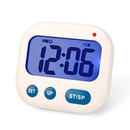 NXSP Vibration Alarm Clock, LED Digitale timer Electronic Candy Watch Desktop Display Student Clock Desk Gadgets draagbaar