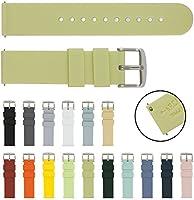 Archer Watch Straps - Vervangende Quick Release Horlogebanden van Zacht Siliconen Rubber voor Dames en Heren - Meerdere...