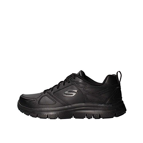 Skechers Skechers Herren Flex Advantage Sneaker, Schwarz (Black 51461-Bbk), 41 EU