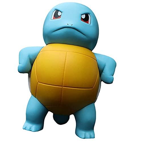Tsundere Jenny Turtle Canard humoristique Pokémon en PVC pour chambre à coucher, salon, voiture, boîte cadeau 10 cm