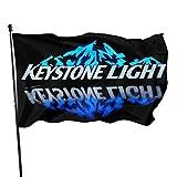 Husong Keystone Light Flag Banner 3x5 Feet