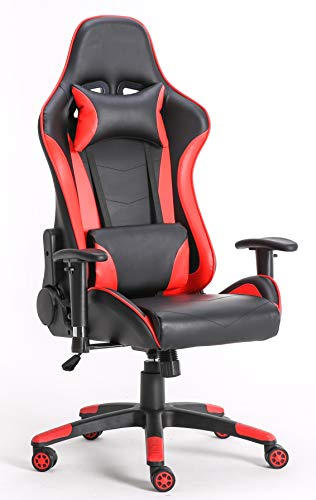 Requena Gaming Racing Sport Desk Office Chair Adjustable Computer Chair...