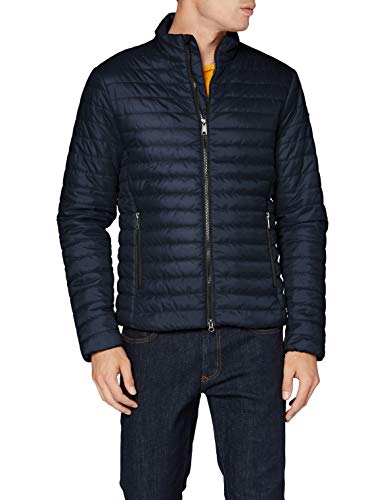 Geox Mens M Wilmer Quilted Jacket, Blue Nights, 52