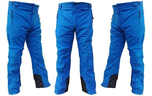 Selltex waterdichte heren winterbroek/snowboardbroek/skibroek/sneeuwbroek blauw 50-56