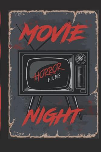Movie Night Horror Films Notebook