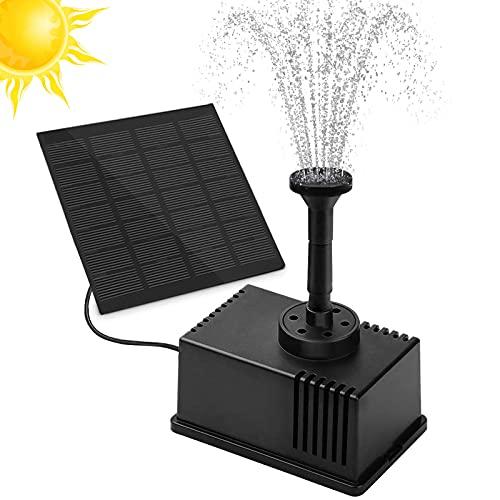 Solar Springbrunnen, omitium Solar Teichpumpe Solar Wasserpumpe...
