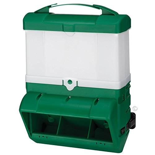 Premier 1 Supplies Wise Mountable Poultry Feeder - 20 lb (Green)