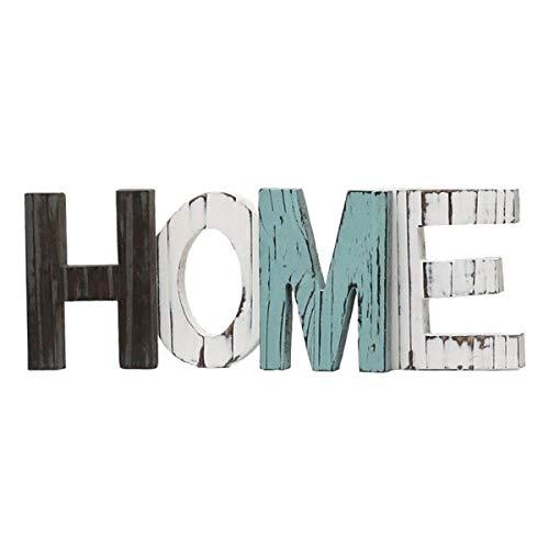 DYHM Letras Madera Muebles de Madera Home Letras Decorativas de Madera Grande de la Letra del Alfabeto Colgar de la Pared Decoración sesión
