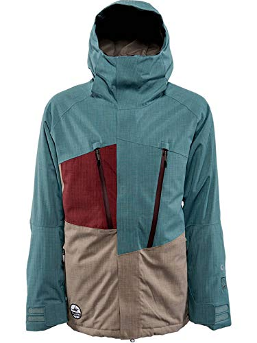 Nitro Herren Snowboard-Jacke Rainier Jacket 15, Mustard/Dark Oliv, L